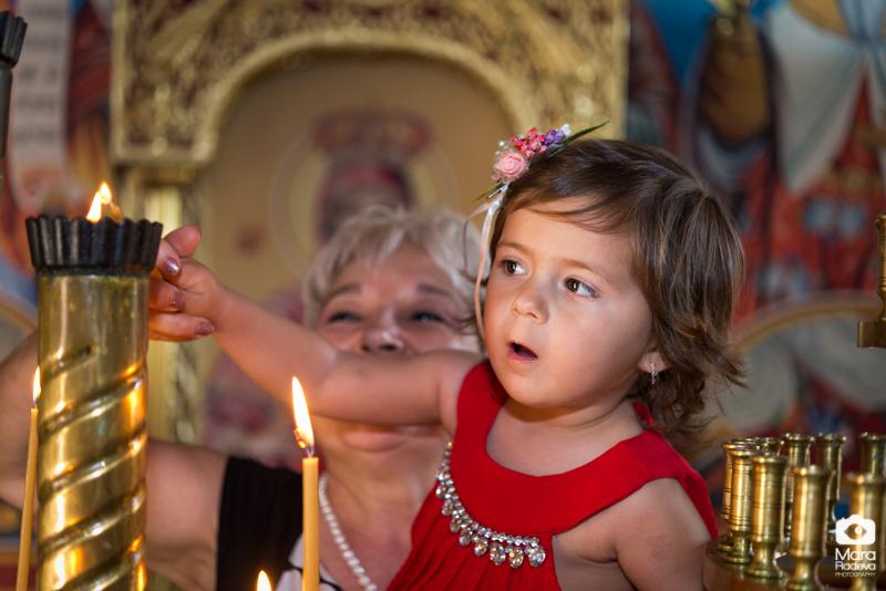 Кръщене и рожден ден на малката Ева