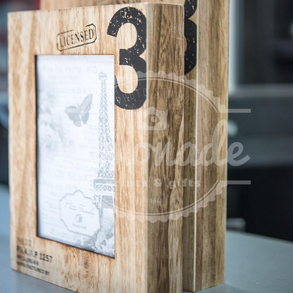 Рамка за снимка дърво 10х15см