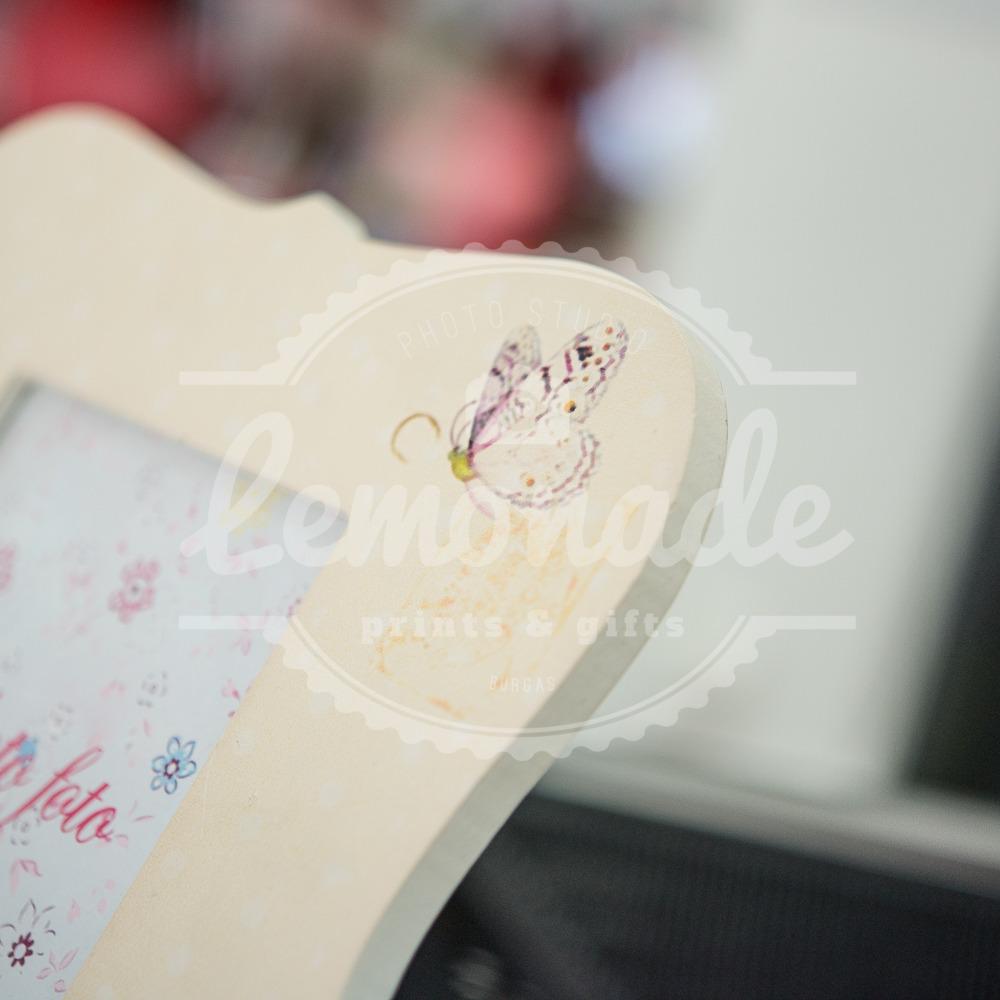 Рамка за снимка с рози  10х15см