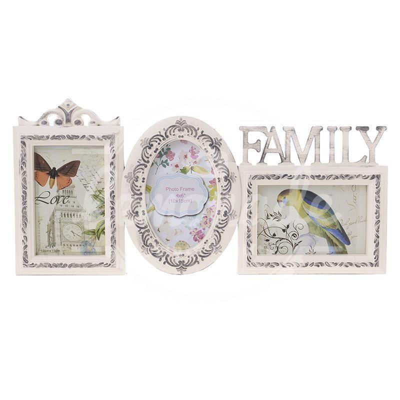 Колаж от 3 рамки Family